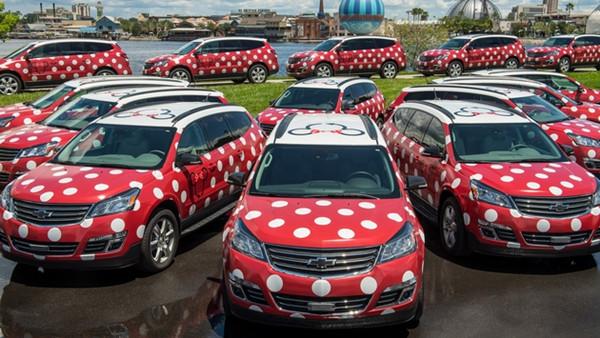 """迪士尼:""""米妮版旅游车""""将开展旅游者接驳服务"""