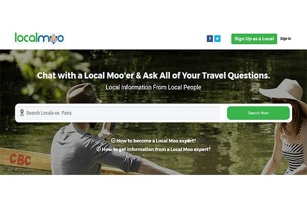 LocalMoo:新平台帮助游客与当地居民互动