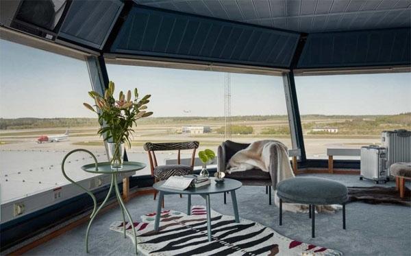 瑞典:控制台变奢华公寓 旅客爱上在机场过夜