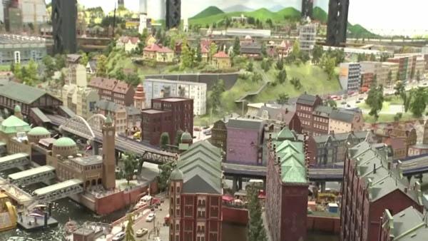 谷歌:将世界最大的微型铁路模型带进谷歌街景