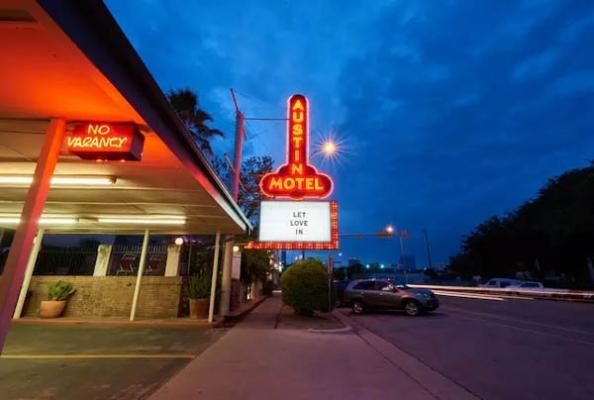 Austin Motel: 介于Airbnb和精品酒店间的住处