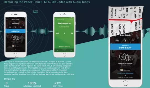 美国:别了二维码 票务公司开始用超声波验票