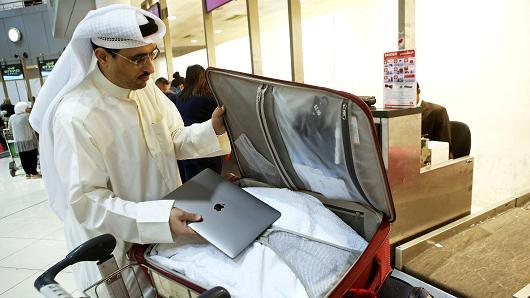 美国:取消所有中东航空公司的笔记本电脑禁令