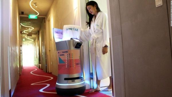 酒店:客房服务机器人未来或不再只是吉祥物