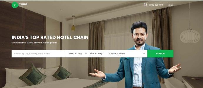 Treebo:印度经济型酒店获香港风投3500万美元