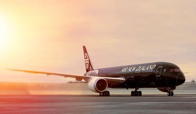 新西兰航空:订购8架787-10 目录价值27亿美元
