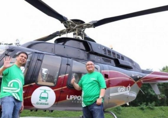 Grab:拟推直升机服务 定位高端用户市场