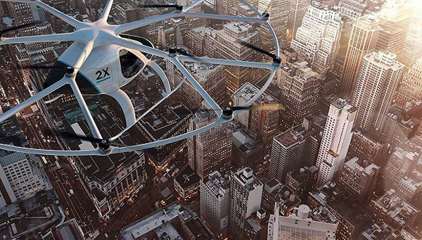 迪拜:也加入了空中出租行列 而且是无人飞行