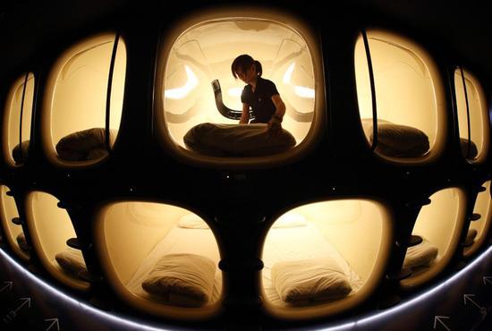 数据:未来5年胶囊酒店市场或达2.26亿美元