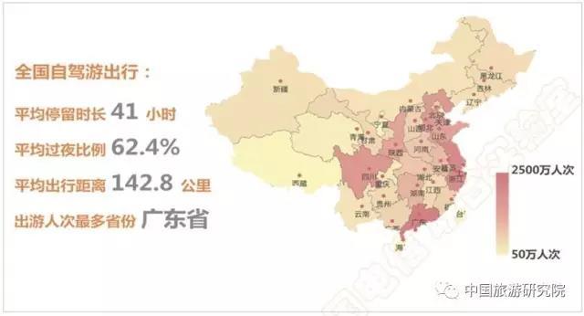 大数据:2017年上半年全国自驾游(跨市)报告