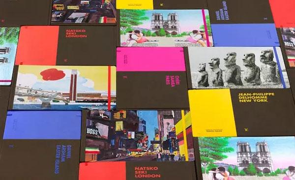 LV:发布东京城市旅游指南 一本可爱的像素画