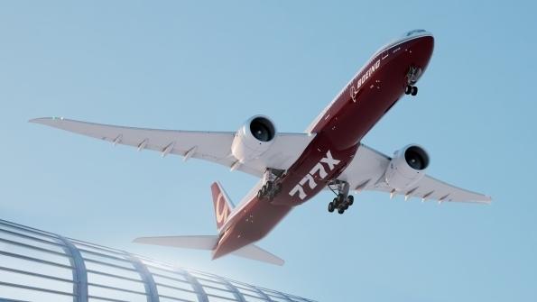 波音777X:因發動機問題首飛時間推遲到2020年