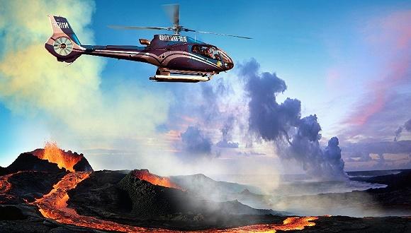 夏威夷:直升机观光游太火爆 当地居民抗议