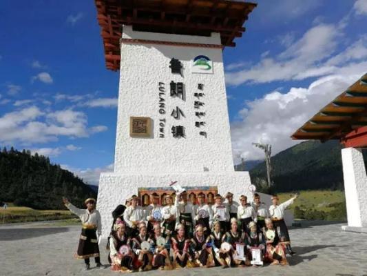 林芝鲁朗:国际旅游小镇开启脱贫攻坚新征程