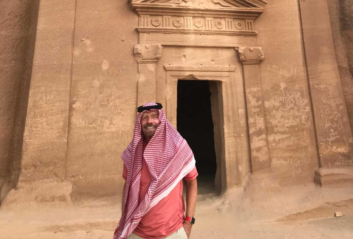 维珍:投资将沙特50座岛屿变身豪华度假胜地