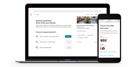 Airbnb:瞄准团队游市场 推出AA支付功能