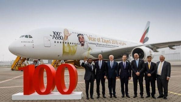 阿联酋航空:迪拜新机场有容纳200架A380潜力