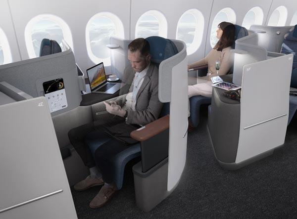 德国汉莎航空:揭秘全新商务舱 2020年推出