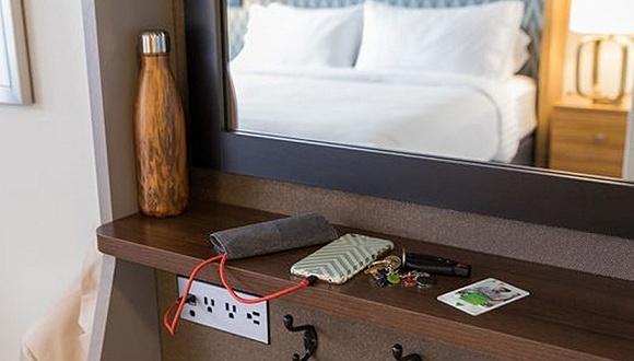 酒店业:为千禧一代重新设计更便利的客房
