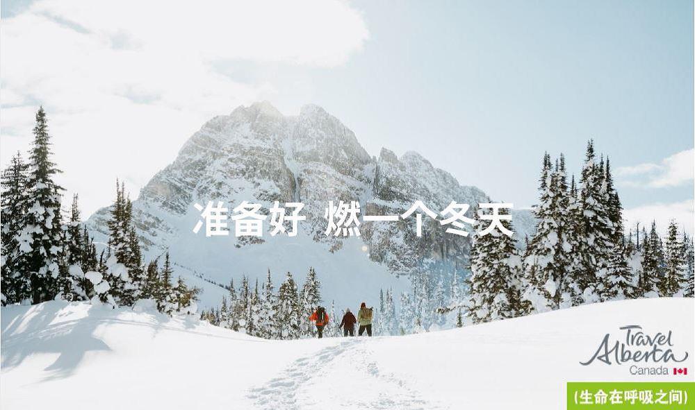 """艾伯塔:诚邀中国千禧一代前来""""燃一个冬天"""""""