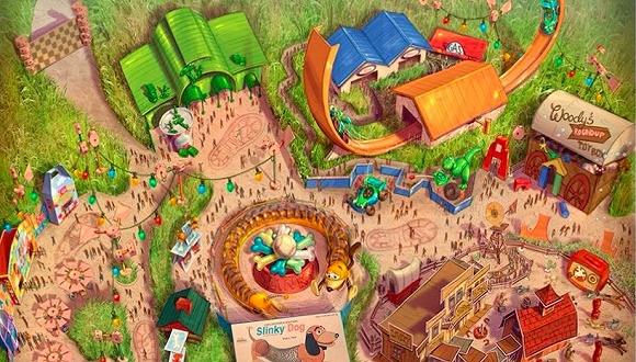 """上海迪士尼:揭开新园区""""玩具总动园""""的面纱"""