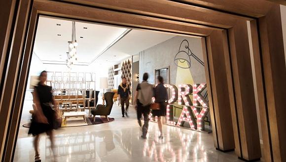 新国贸饭店:开了中国第一个酒店共享办公空间