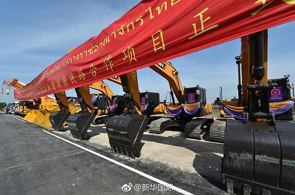 中泰铁路:本月下旬将开工 可从昆明直达曼谷