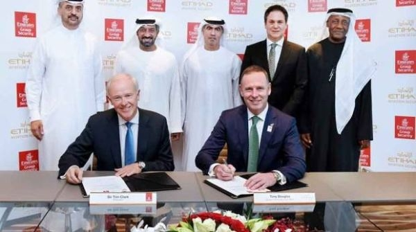 阿联酋航空:将与阿提哈德航空开展安全合作