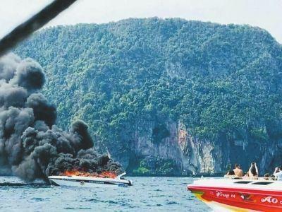 国家旅游局:紧急处置泰国皮皮岛快艇起火事故