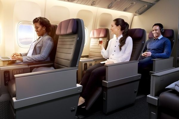 美联航:不甘人后 也要推远程航班高端经济舱