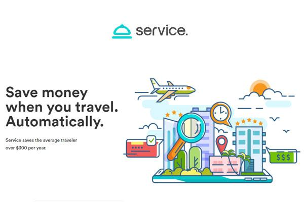 Service:推出在预订酒店后为旅客省钱的服务
