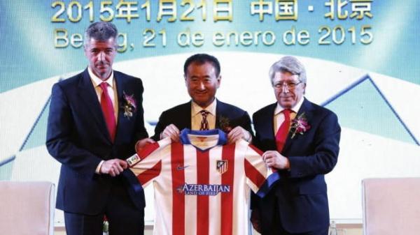 万达:或已出售马德里竞技俱乐部18%的股份