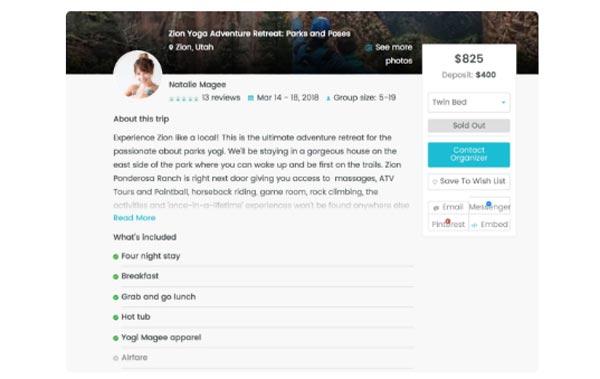 Wetravel:团体旅行平台种子轮融资200万美元