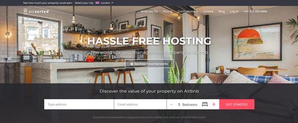 Airsorted:房屋租赁管理公司融资500万英镑