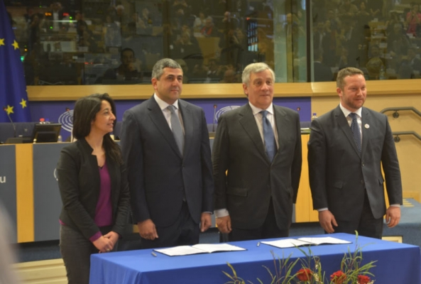 中欧旅游年:欧洲议会UNWTO签署谅解备忘录