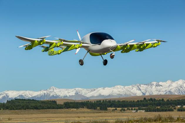 Kitty Hawk:曾获谷歌创始人投资 开始测试飞的