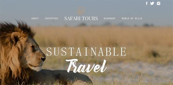 Big Five Tours:推可持续旅游网站SafariTours