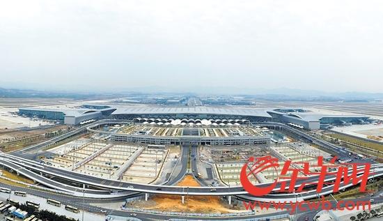 白云机场:T2航站楼4月26日启用 可刷脸登机