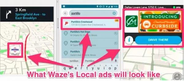 Google:推出Waze Local 开启广告营销新方式