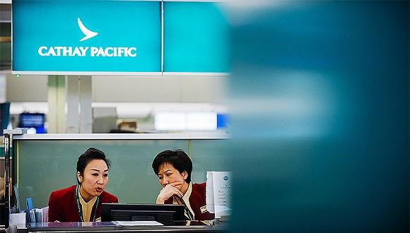 国泰航空:去年全年预亏27亿港元 竞争形势严峻