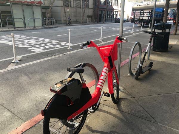 美国:旧金山政府允许更多共享单车运营商入场