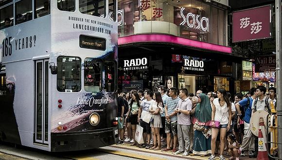 香港:游客进一步增长 2月零售额更急升29.8%