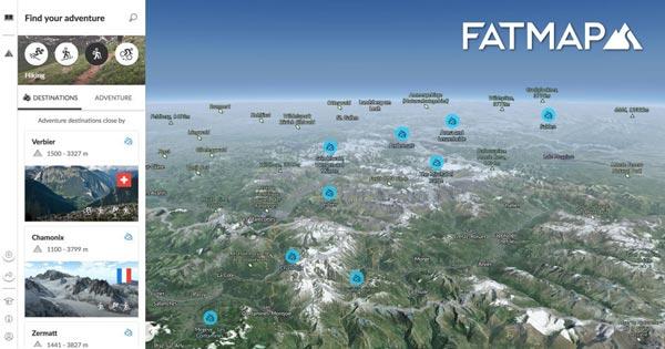 FatMap:户外运动地图完成850万美金融资