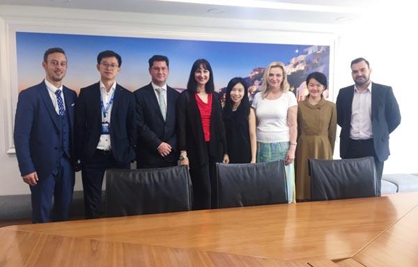 希腊旅游部部长访问携程:共谋希腊旅游在华推广