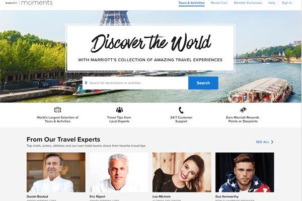 万豪:Marriott Moments深耕旅游和活动市场