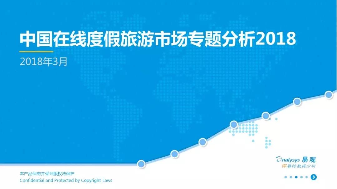 易观:2018中国在线度假旅游市场专题分析