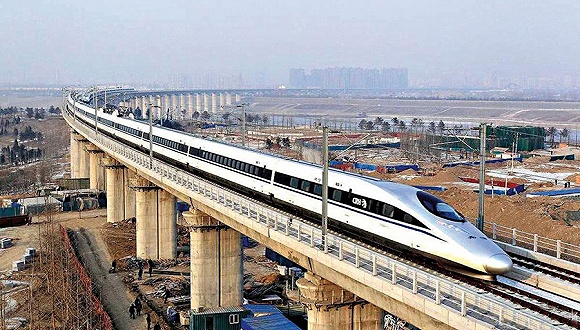 中国三条高铁同时开通:运营时速均能达350公里