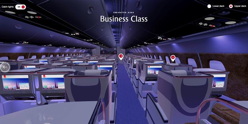 阿联酋航空:用VR技术让乘客查看客舱和选座