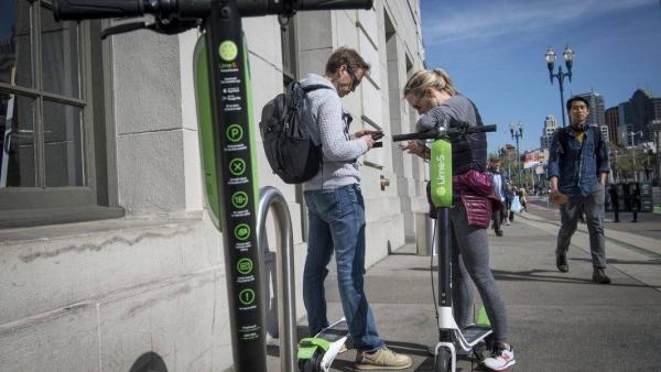 共享滑板车背后:谷歌、Uber、软银暗斗大出行