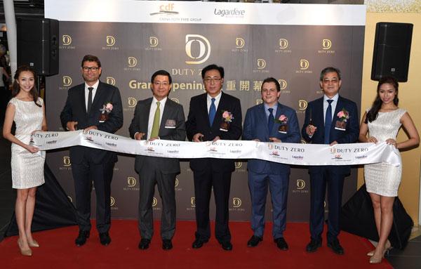 香港国际机场:八间烟酒免税店隆重开幕